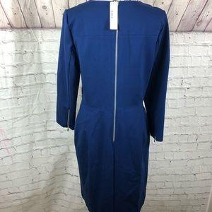 J. Crew Dresses - J Crew Structured knit zip dress